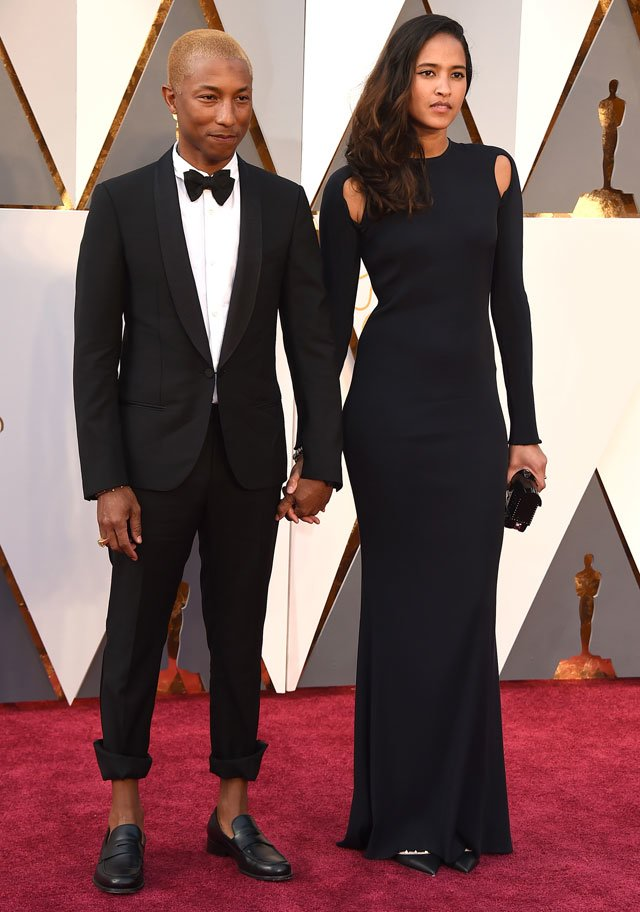 Pharrell Williams y Helen Lasichanh – Premios Oscar Cuore